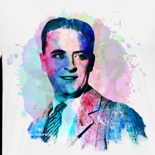 Fitzgerald Meets Melographics - Men's Premium T-Shirt