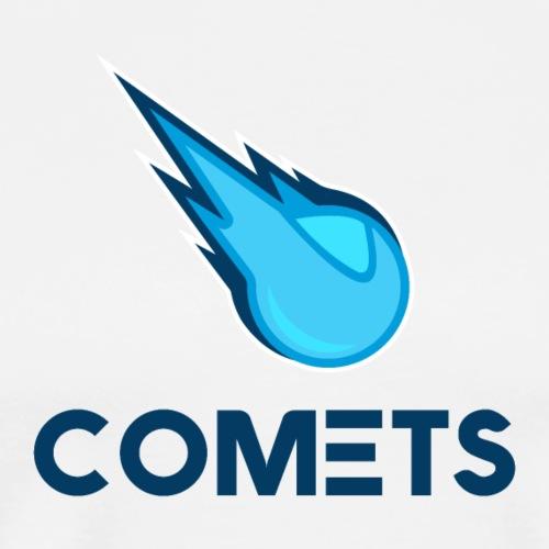 Comets Text Logo - Men's Premium T-Shirt