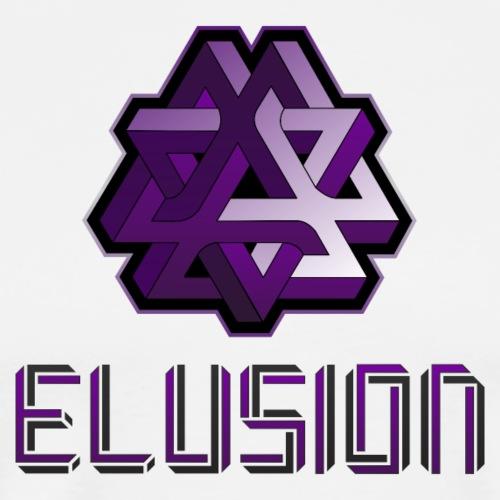 Elusion Text Logo - Men's Premium T-Shirt