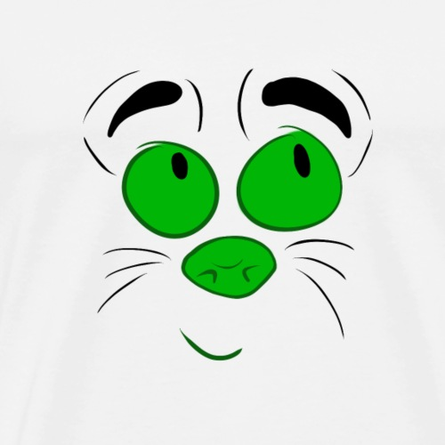 cartoon face - Men's Premium T-Shirt