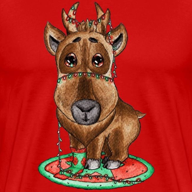 reindeer refined scribble