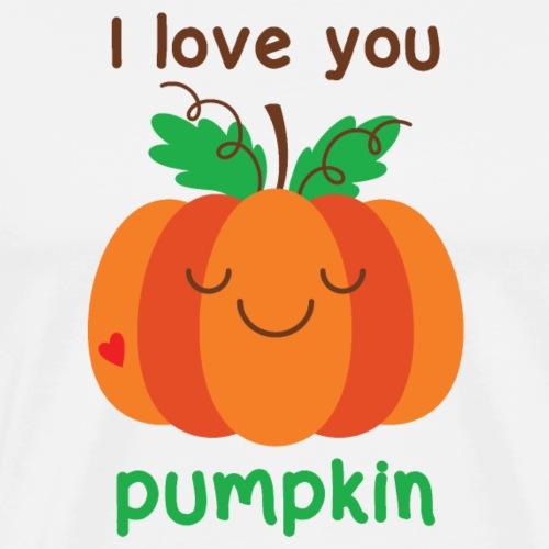 I love you pumpkin - Men's Premium T-Shirt