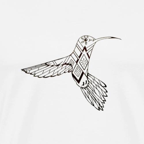 Hummingbird transparent - Men's Premium T-Shirt