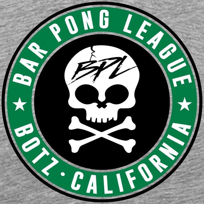 Bar Pong Badge Logo