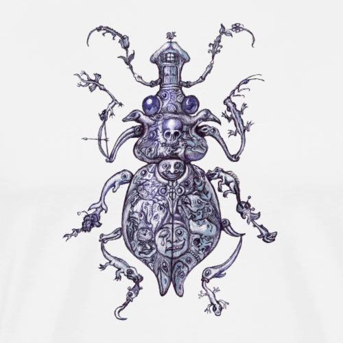 Beetle - the Art of M. Kriftner - Men's Premium T-Shirt