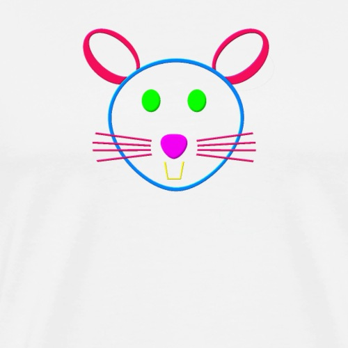 Coloured mouse - Men's Premium T-Shirt