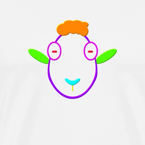 Coloured sheep - Men's Premium T-Shirt