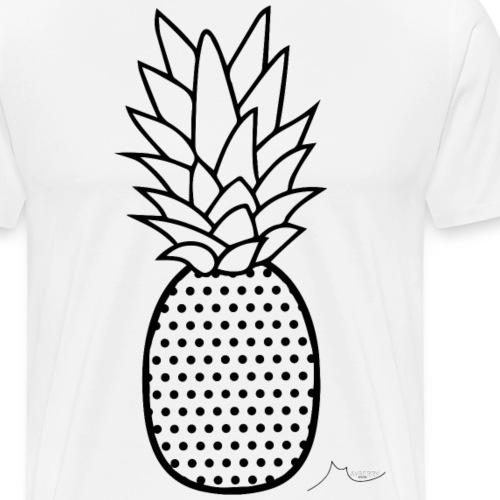 Poka Dot PineApple | Limited ♕ - Men's Premium T-Shirt