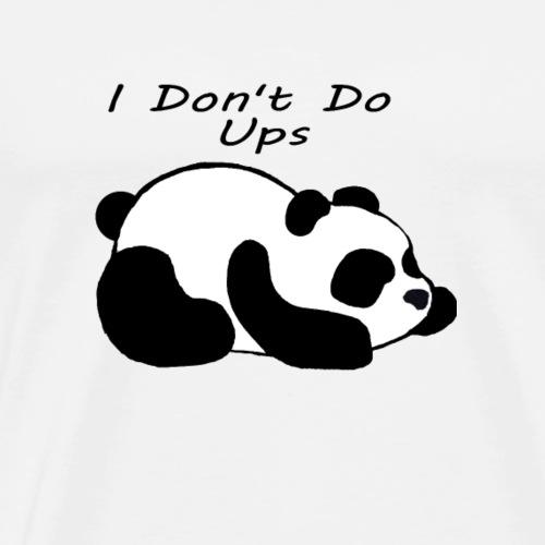 panda ups - Men's Premium T-Shirt