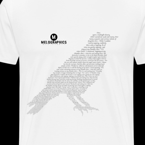 Quoth the Raven - Men's Premium T-Shirt