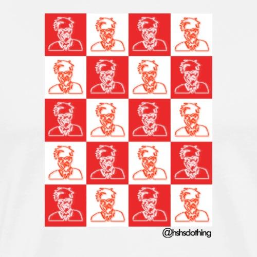KFC checkerboard - Men's Premium T-Shirt