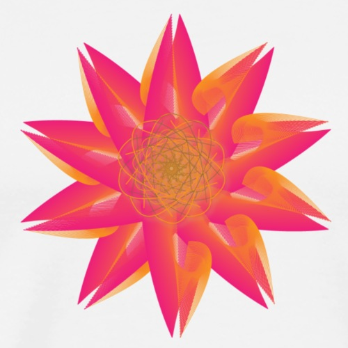 Funky Lotus Flower - Men's Premium T-Shirt