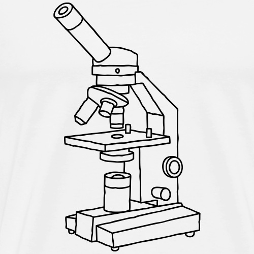 Microscope - Men's Premium T-Shirt