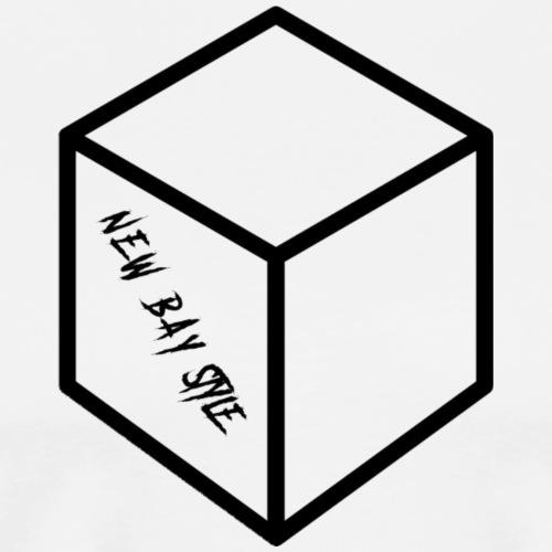 NEW BAY STYLE CUBE - Men's Premium T-Shirt