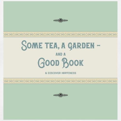 tea a garden and a book