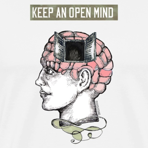 Keep an Open Mind - Men's Premium T-Shirt
