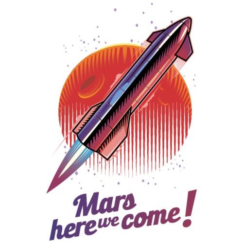 Mars Here We Come - Light - Men's Premium T-Shirt