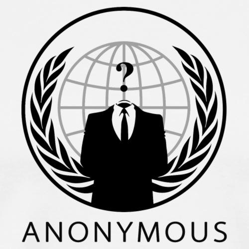 Anonymous 1 - Black - Men's Premium T-Shirt