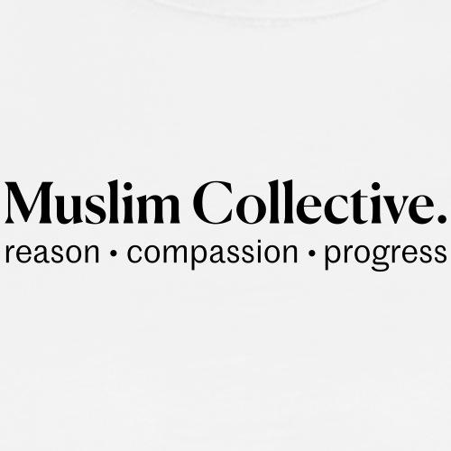 Muslim Collective Logo + tagline - Men's Premium T-Shirt