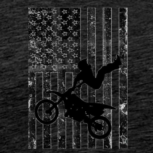 American Flag (Black and white)