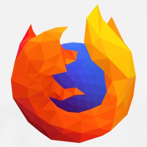 Firefox Reality Logo - Men's Premium T-Shirt