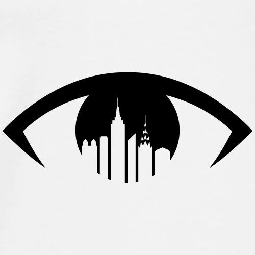 Viewing NYC Eye Logo - Men's Premium T-Shirt