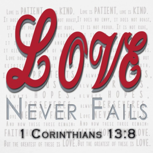 Love Never Fail - Men's Premium T-Shirt