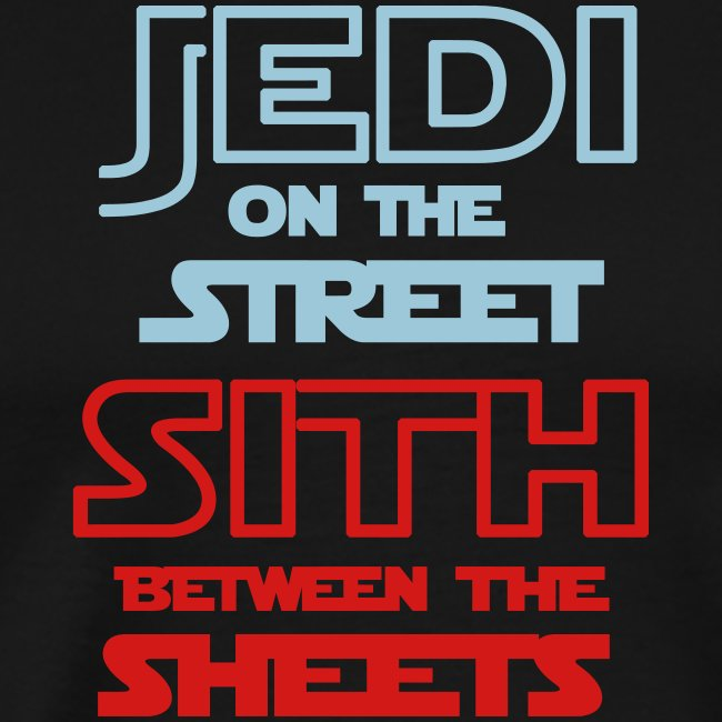 Jedi Sith Awesome Shirt