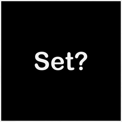 set? - black - Men's Premium T-Shirt