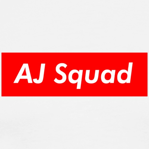 AJ Squad Merchandise (Supreme Themed) - Men's Premium T-Shirt