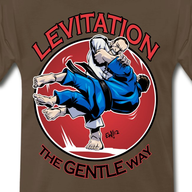 Judo Levitation for white shirt