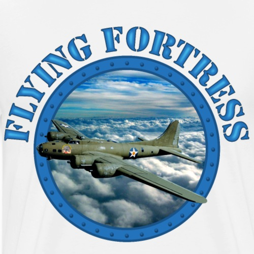 Flying Fortress - Men's Premium T-Shirt