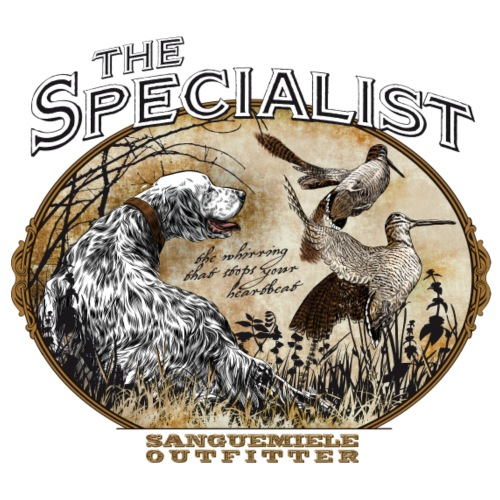 english setter specialist - Men's Premium T-Shirt