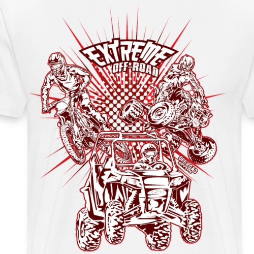 Extreme Supercross Shirt - Men's Premium T-Shirt