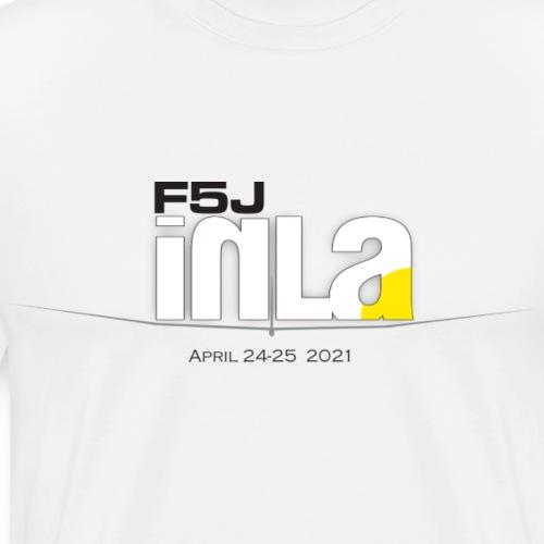 F5J in LA-Calif versus Arizona 2021 - Men's Premium T-Shirt