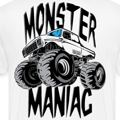 Monster Truck Maniac BIG - Men's Premium T-Shirt