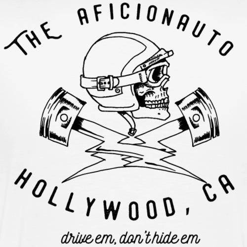 jolly roger piston by Andrew K Currey - Men's Premium T-Shirt