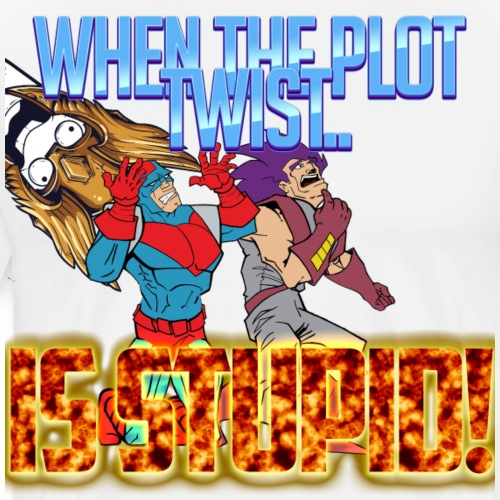 PLOT TWIST - Men's Premium T-Shirt