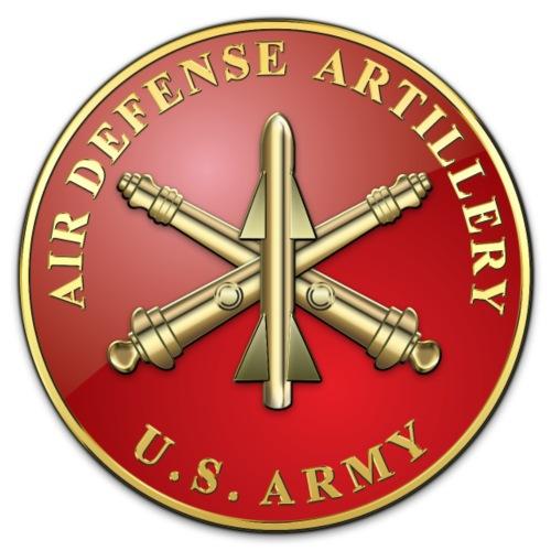 Air Defense Artillery Branch Plaque - Men's Premium T-Shirt