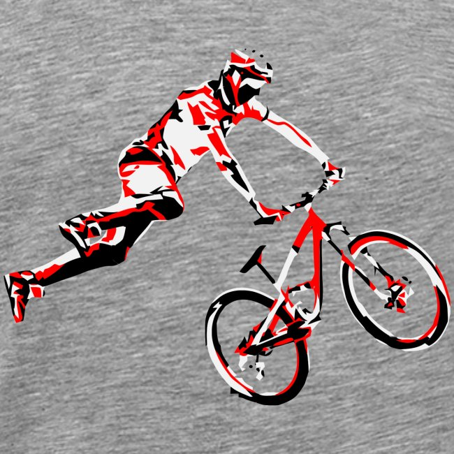 mtb air front red