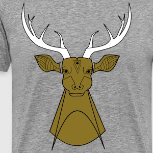 Wild deer - Men's Premium T-Shirt