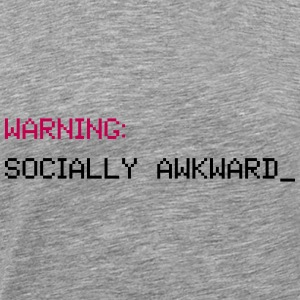 Socially Awkward - Men's Premium T-Shirt