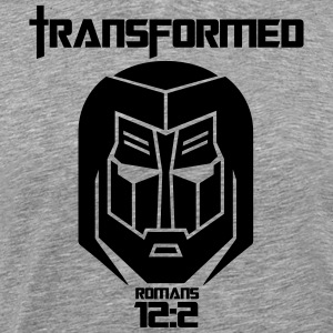 Jesus Transformer 2B - Men's Premium T-Shirt