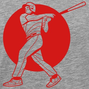 baseball hitter - Men's Premium T-Shirt