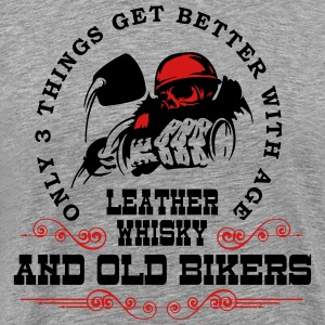 Old Bikers Get Better With Age - Men's Premium T-Shirt
