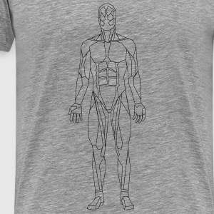 Geometric human - Men's Premium T-Shirt