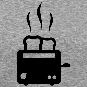 toaster - breakfast - food - Men's Premium T-Shirt