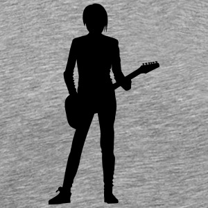 Singer and Dancer Silhouette vector design - Men's Premium T-Shirt
