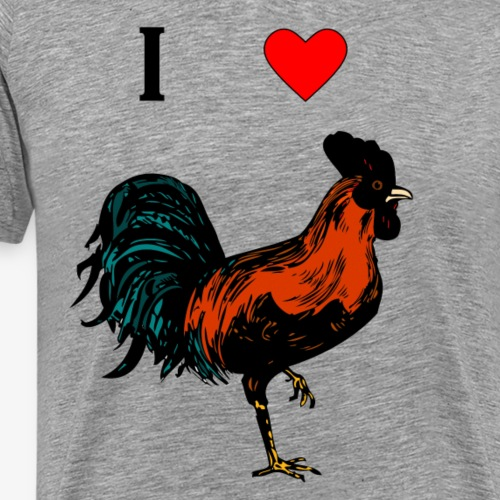 I Heart...the C - Men's Premium T-Shirt