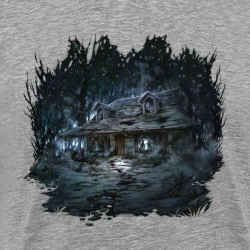 Dark House Plain - Men's Premium T-Shirt